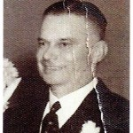 George M. Simpson, son of May Simpson, nee Tress  1947