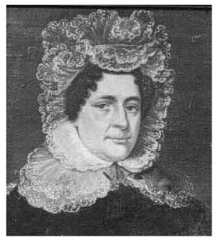 Elizabeth Scarr 1771-1842 Wife of Richard Scarr