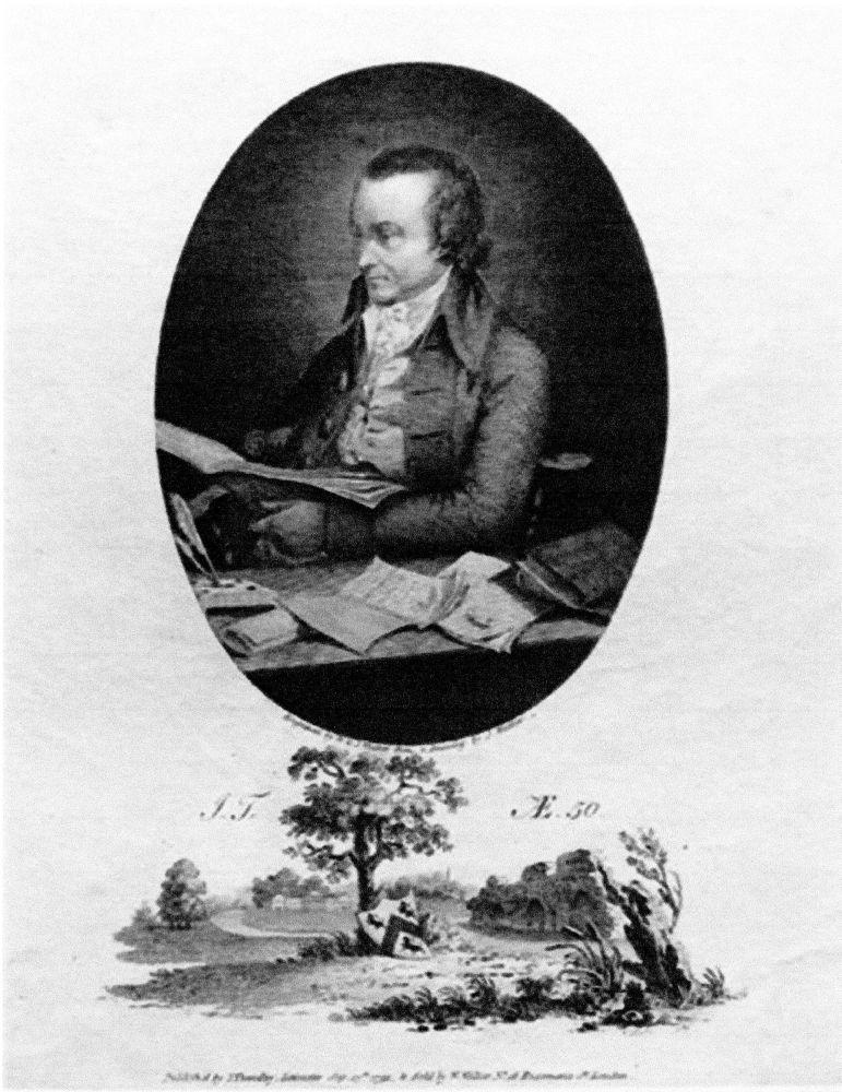 John Throsby 1740-1803 Father of Dr. Charles Throsby