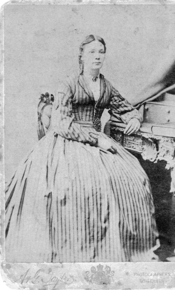 Probably Jacobina Scott nee Archibald, c.1895, daughter of John & Elizabeth Archibald.
